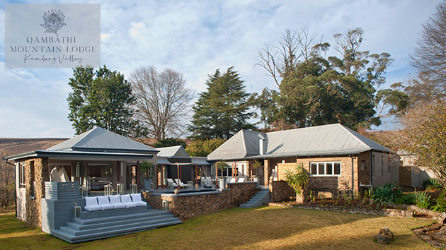 QAMBATHI MOUNTAIN LODGE - LUXURY SELF CATERING