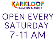 Karkloof Farmers Market (every Saturday)